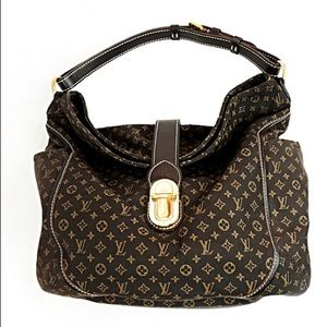 Louis Vuitton Ebene Mini Lin Idylle Romance Hobo